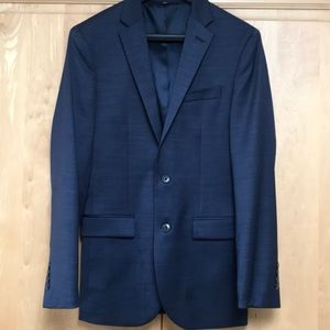Jos A Banks navy sport coat